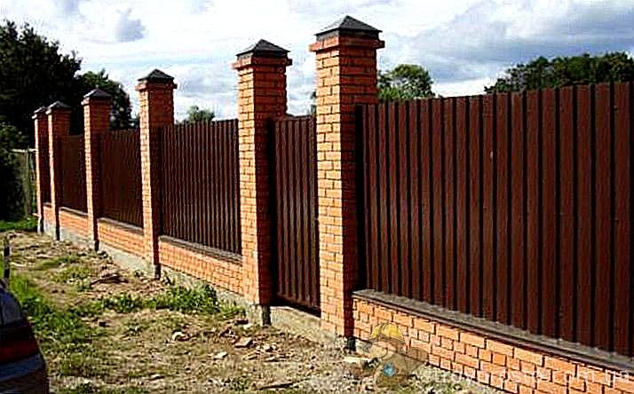 Колпак на забор своими руками фото