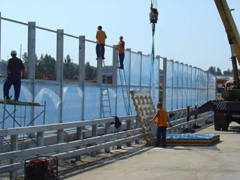 Забор шумозащитный своими руками 100